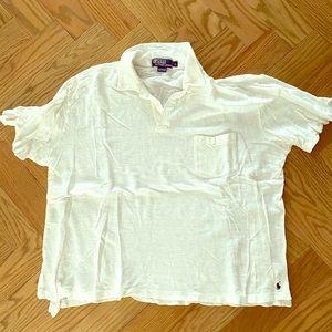 Ralph Lauren linen polo shirt